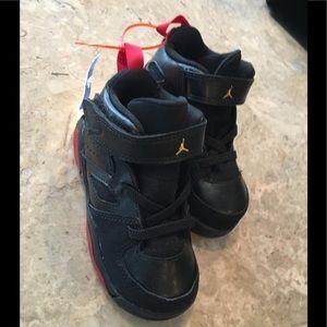 New Air Jordan Toddler Sz 7 BLK Sneakers